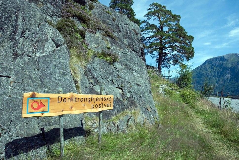 trondhjemske postvei kart Ljøsætra (Den trondhjemske postvei), Hellesylt trondhjemske postvei kart